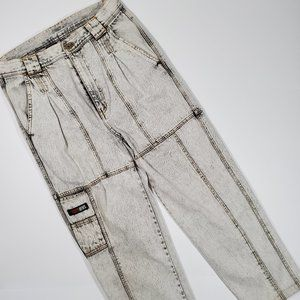 Vintage 80's Today's News Acid Wash Jeans 31 31x27